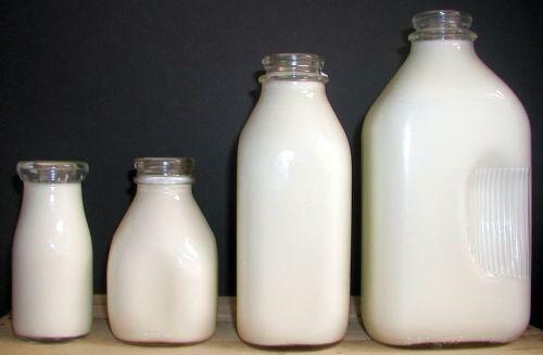 Glass Milk Bottles Ebay