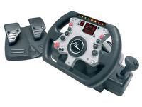 Joytech Williams F1 steering wheel for PS2