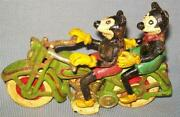 Vintage Motorcycle Toy