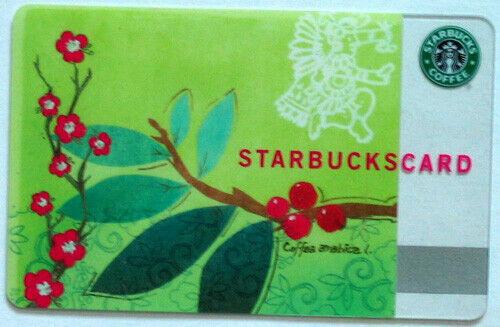 STARBUCKS -Coffee Arabica - Collectible Gift Card  2007 0 Ca