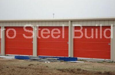 Duro Steel Mini Self Storage 30x40x8.5 Metal Prefab Building Structures Direct