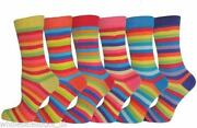 Ladies Cotton Rich Socks