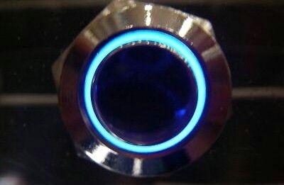 Stainless Dpdt Onon Blue Light Car Switch 12v.b22ze