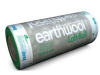200mm Knauf Earthwool Loft Insulation Rolls 5.93m² Full Size Not Mini Rolls Delivery available