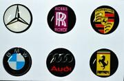 iPhone Button Sticker Car