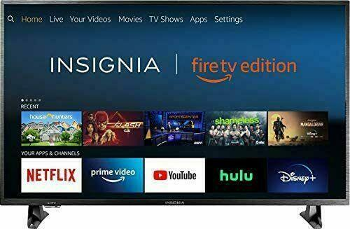Insignia NS-32DF310NA19 32-inch Smart HD Fire TV WIFI - NO BASE STANDS NO REMOTE