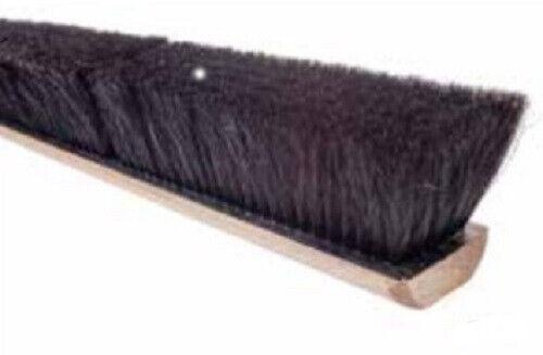 "Magnolia Brush #718 18"" Black Horsehair Floor Brush Push Broom Head"