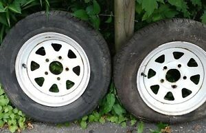 Boat Trailer Wheels - 13""