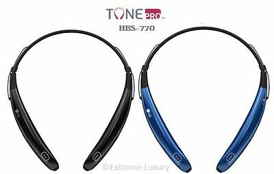 LG TONE Pro Wireless In-Ear Behind-the-Neck Headphones HBS-770 - u
