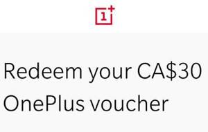 Free coupon for $30 off OnePlus 6 phone