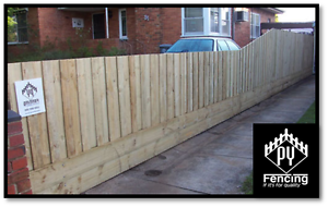 Treated Pine Paling Fence Packages All Timber Materials Included Seaford Frankston Area Preview