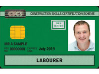 Labourer Green Card Health & Safety Awareness Inc CSCS test and card application (1 Day)
