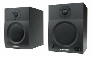 samson BT5 studio monitor powered speakers - wired or bluetooth!