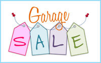 GARAGE SALE May 20th