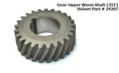 Gear-upper Worm Shaft 25t For Hobart H600 P660 L800 Mixers Part 24207