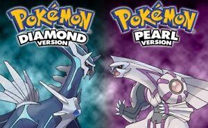 Pokemon Pearl and Diamond bundle must pick up tonight