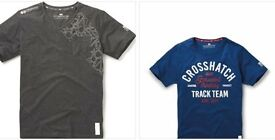 2 New Crosshatch T-Shirts