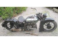 Vintage BSA V twin 1931 1000cc needs to go tonight