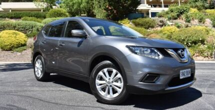 2015 Nissan X-Trail T32 ST X-tronic 2WD Grey 7 Speed Constant Variable Wagon St Marys Mitcham Area Preview