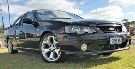 2003 Ford Falcon BA XR6T Black 4 Speed Auto Seq Sportshift Utility Wangara Wanneroo Area Preview