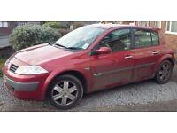 Renault Megane 1.6 16v, 12 month mot, priced for quick sale