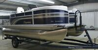 2014 Premier Sunsation 180 Pontoon Boat with Trailer