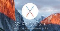 Mac OS X 10.4, 10.5, 10.6, 10.7, 10.8 ,10.9 ,10.10 and 10.11