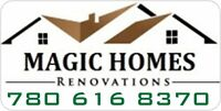 MAGIC HOMES  PAINTING & RENOVATIONS -LTD LOOKING FOR NEW CLIENT