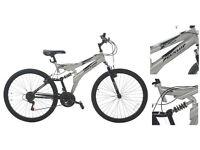 Dunlop Unisex DS26 26 inch Wheels Steel Frame V Brakes Mountain Bike