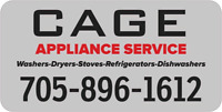 Appliance Repair-CAGE Appliance Service-Locally Owned & Operated