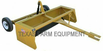 6 Pull-type Scraper Road Graderplaner Leveler Box Blade Dirt Earth Mover
