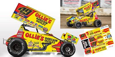 CD-DSC_035 #49 Brad Sweet - Kasey Kahne Racing Sprint Car  1:18 Decals  ~NEW~