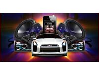 MOBILE CAR AUDIO SERVICE, speakers, subwoofer, satnav, parrot,