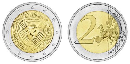 LITAUEN 2 EURO VOLKSLIEDER - SUTARTINES 2019 bankfrisch