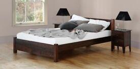 Warren Evans solid wood Double Bed