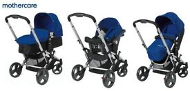 Mothercare Xpedior Travel System - Klein Blue