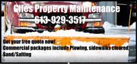Snow plowing Commerical or Residential