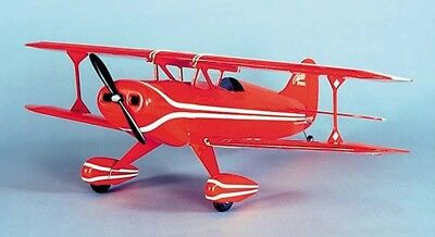 Herr Pitts Pitt Special Balsa Wood Model RC Remote Control Airplane Kit HRR507