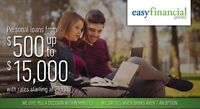 Need money for those renovations? goeasy with easyfinancial!!!