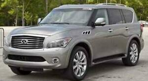 Infiniti QX56 Upper Class Mesh Grille, Overlay, with OE Logo Pl