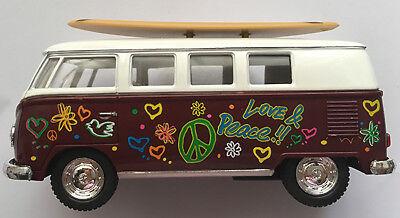 Hawaiian Surf Car 1962 Volkswagen Bus Surfboard Woody Surfing North Shore NIB