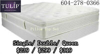 █☎FACTORY CLEARANCE SALE!EuroTop New Mattress&Box!