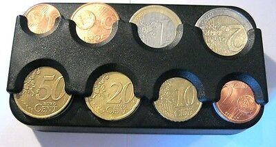 Münzhalter Made in Germany für Auto Münzen Geldbox Kleingeld Euro Münzspender