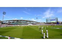 England v West Indies ODI @ The Oval 27th September. Two tickets @ face value.