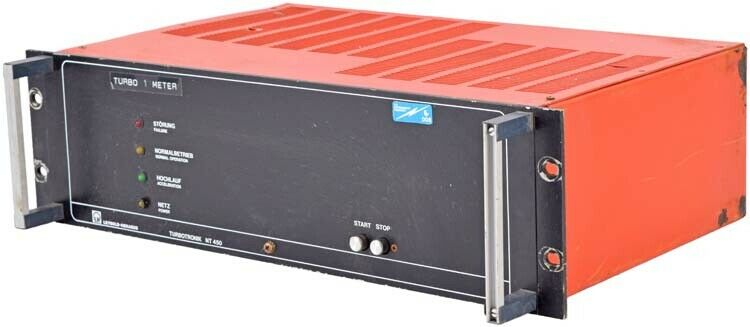 AEG Leybold Heraeus Turbotronik NT 450 Vacuum Pump Controller Unit 853 63 PARTS