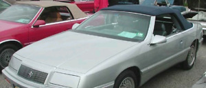 Toit Convertible Chrysler LeBaron 1987-95 Bleu . Neuf TOP ONLY