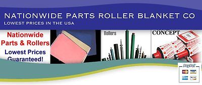 PRINTING PRESS PARTS ROLLERS