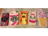 (Pack of 5) iPhone 5c Cases