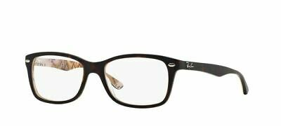 Ray-ban RX5228 5409 50mm Top Matte Havana Su Tex Camuflag Brille