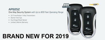 NEW Prestige APS25Z Standard Car Security Alarm System Bugler Keyless Entry , used for sale  Fresno